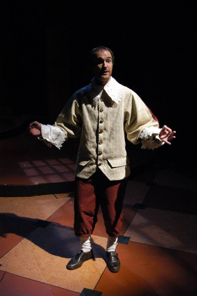 """Christian Miller in Southwest Shakespeare's 2004 production of """"Cardenio"""". (Photo credit unknown)"""