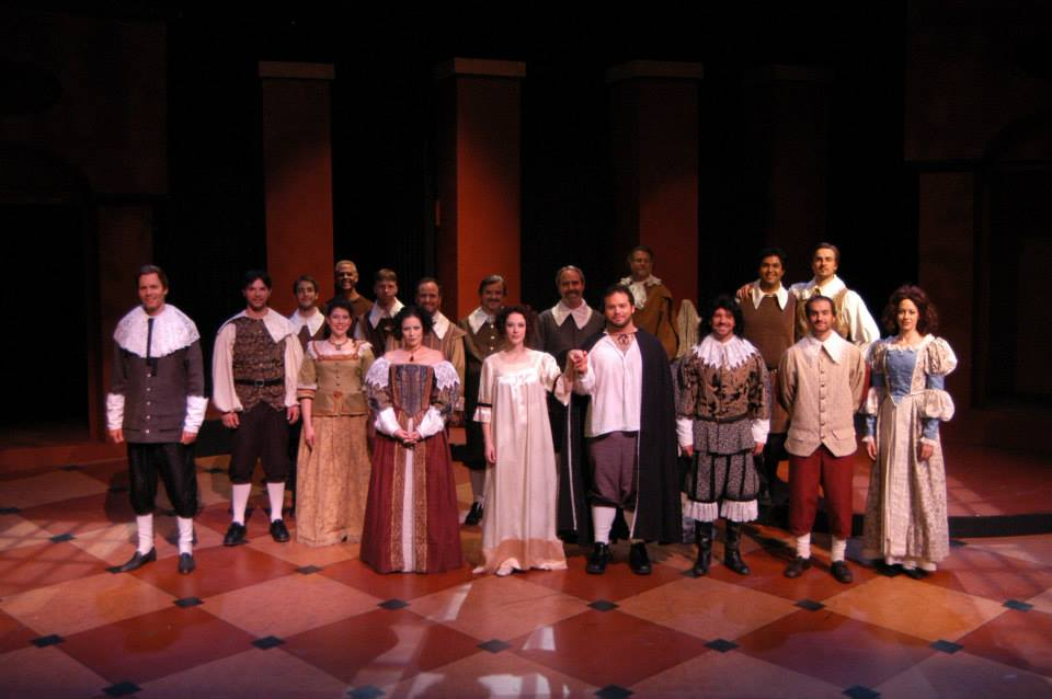 """The cast of Southwest Shakespeare Company's 2004 production of """"Cardenio."""" (Photo credit unknown)"""