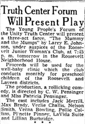 Arizona Republic, Feb. 23, 1939