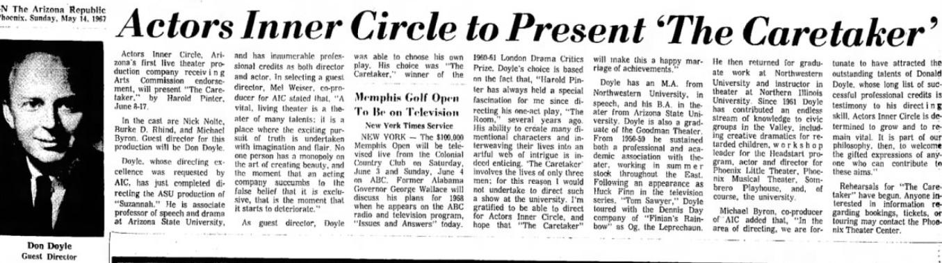 Arizona Republic, May 14, 1967