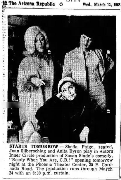 actors inner circle 1968 Mar 15 CB 1
