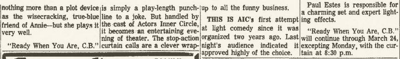 actors inner circle 1968 Mar 15 CB c