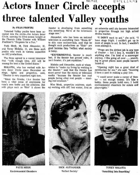 actors inner circle 1968 Oct 12