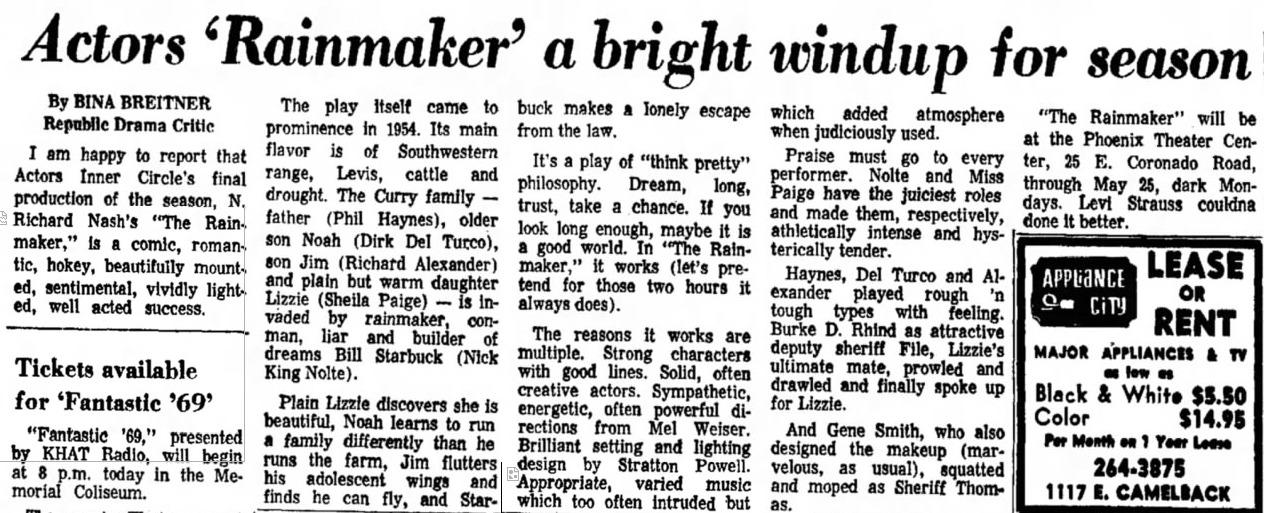 Arizona Republic, May 17, 1969