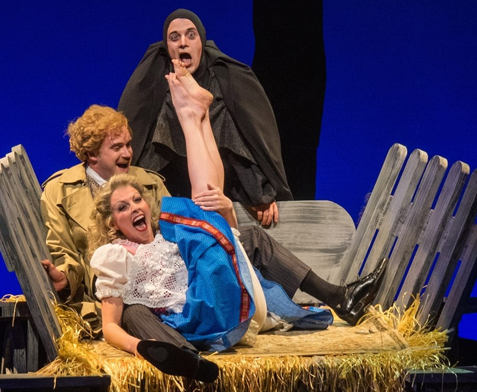 """Becca Gotlieb steals the show with """"Roll in the Hay."""" (Photo by Mike Benedetto)"""
