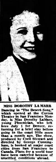 Arizona Republic, Sept. 26, 1939