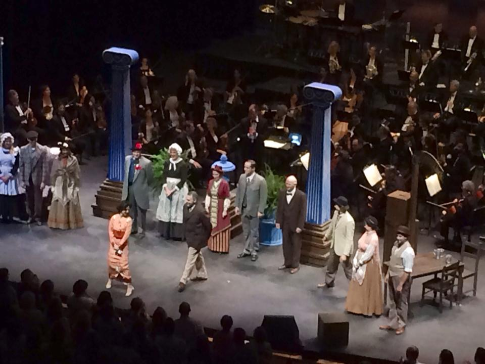 """Phoenix Theatre co-presents """"My Fair Lady"""" with the Phoenix Symphony. (Photo by Dr. Sue Sisley)"""