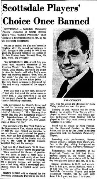 Arizona Republic, Jan. 7, 1968