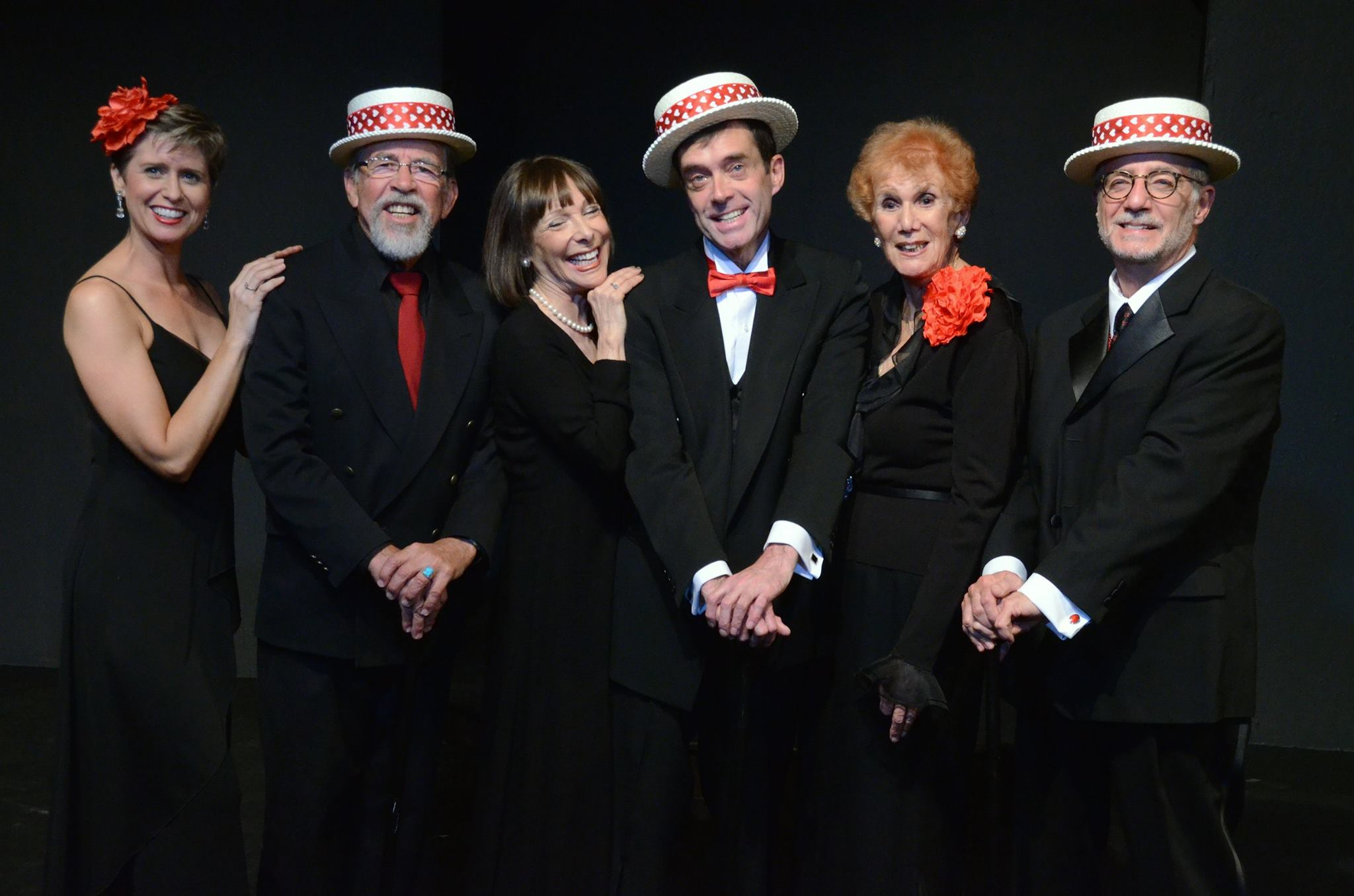 """The cast of """"Hart to Heart"""" at Theatre Artists Studio, 2014. (Photo by Mark Gluckman)"""