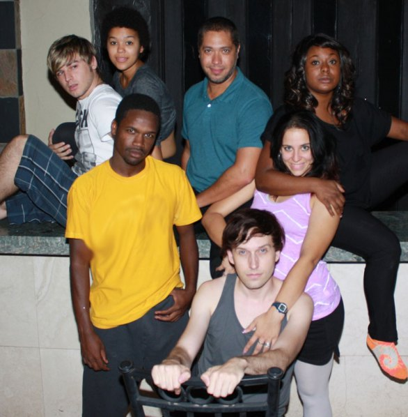 """The cast of """"Rent"""" at Scottsdale Desert Stages Theatre, 2012. (Photo by Corin Grimm)"""