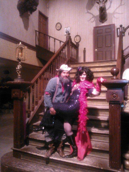 Miss Kitty & Old Ben at Old Tucson Studios