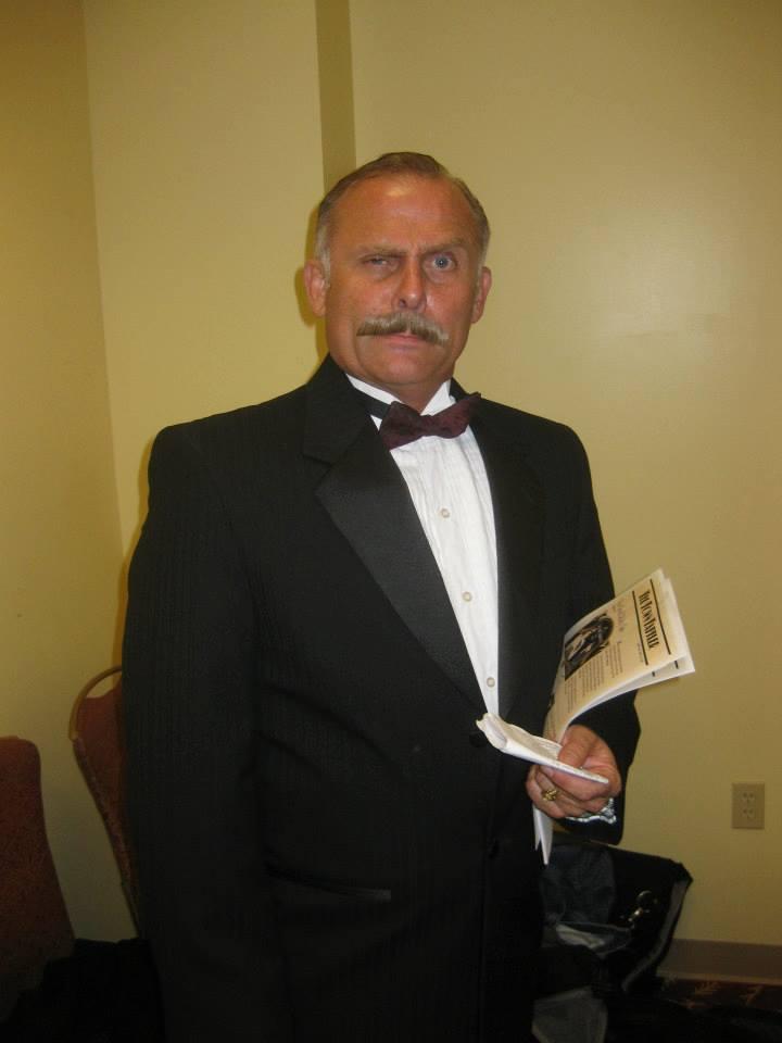 Greg Lutz in 'Talk of Murder,' 2012, JW Marriott Phoenix Desert Ridge Resort & Spa.