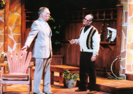 "Benjamin Stewart and David Barker in ""The Value of Names"" at Arizona Jewish Theatre Company. (Photo courtesy of Janet Arnold)"