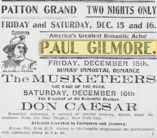 Paul Gilmore 007