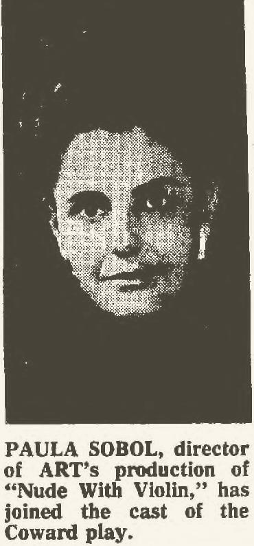 Paula Sobol, Director