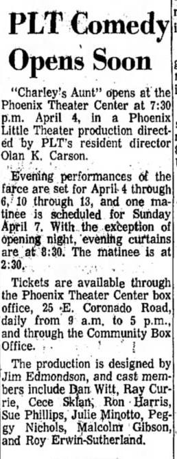 Arizona Republic, March 23, 1968.