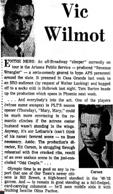 Phoenix Theatre, 1968