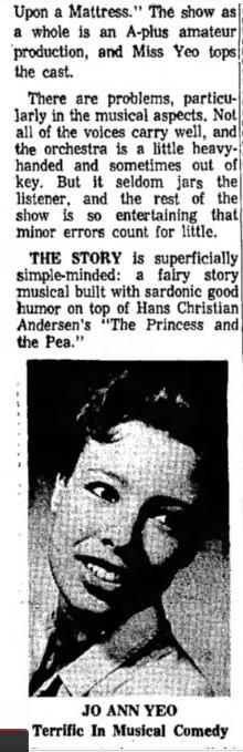 Phoenix Theatre Once Upon A Mattress 1967 Nov - 2
