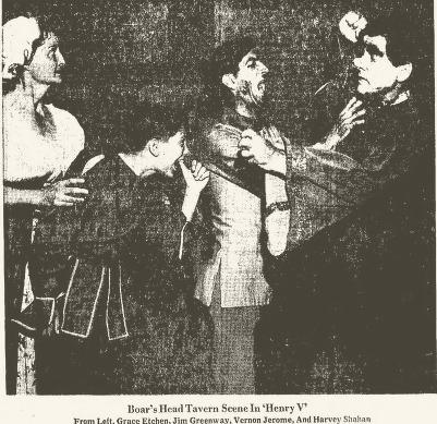 Phoenix Theatre Shakespeare Festival  Arizona Republic, March 20, 1960