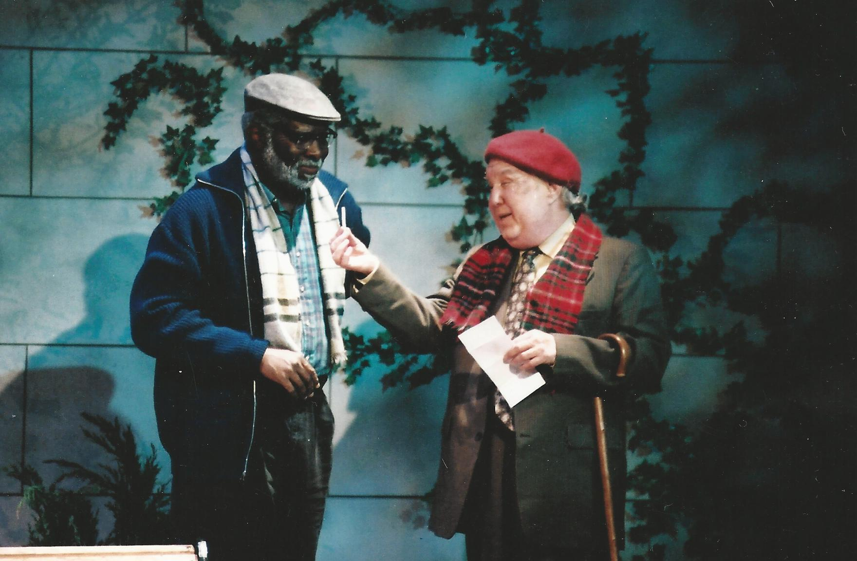"""Ken Love and Benjamin Stewart in """"I'm Not Rappaport"""" for Arizona Jewish Theatre Company. (Photo courtesy of Janet Arnold)"""