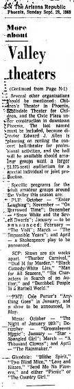 bina breitner on Valley theater 1969 - 3