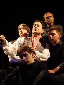 "The theater presented ""Gross Indecency: The Three Trials of Oscar Wilde, by Moises Kaufman, in May 2008, Actors not identified. (Photo by CJ Mascarelli)"