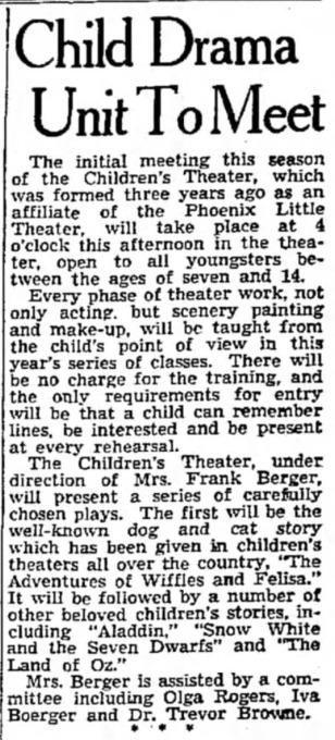 Arizona Republic, Oct. 20, 1938