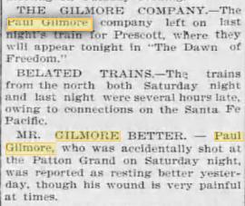 paul gilmore Dec. 18, 1899