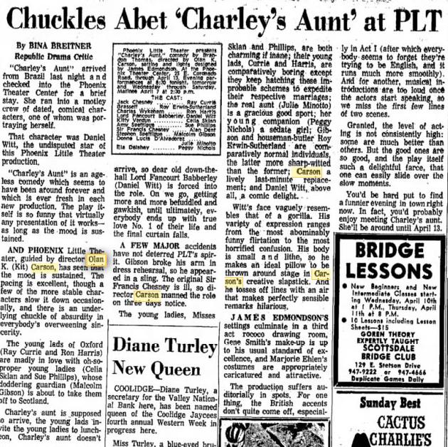 phoenix theatre 1968 charley's aunt 002