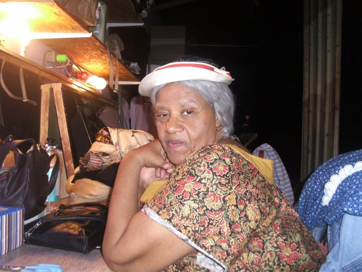 """Joyce at her dressing room table during the run of """"A Raisin in the Sun."""" (Photographer unknown)"""