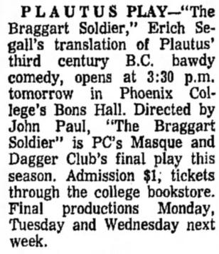 Phoenix College 1968 April 00`