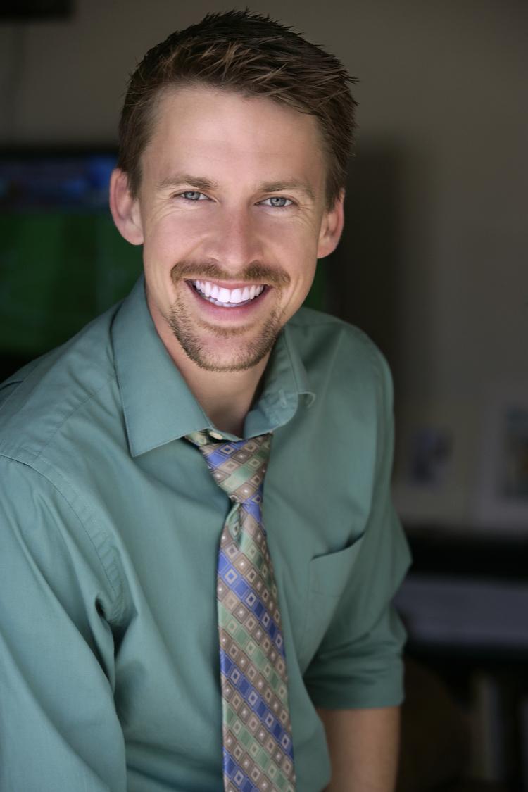 Tyler Eglen with mustache.