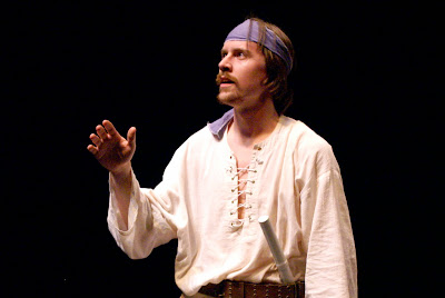 """Tyler Eglen in """"The Odyssey,"""" an adaptation from the work of Homer."""