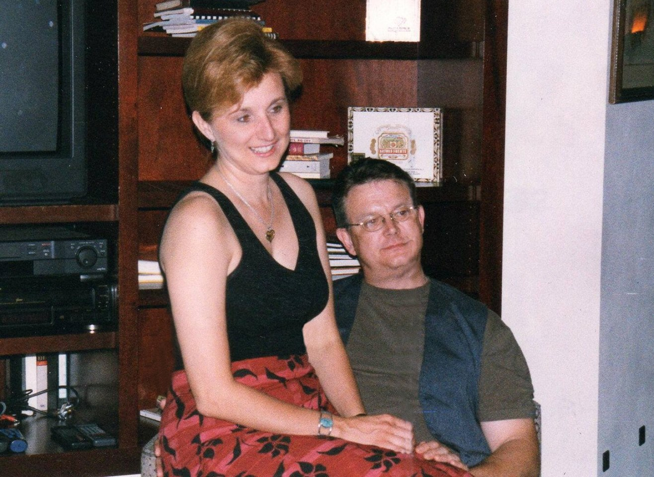 Laura and Doug Durant in 1999. (Photo from Laura's Facebook Page)