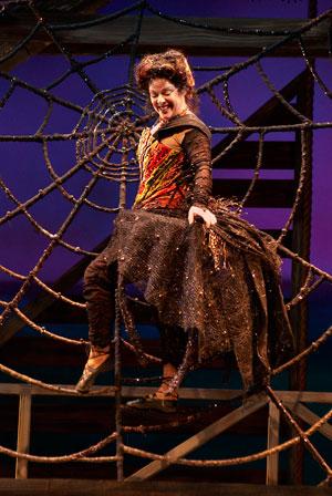 Debra K. Stevens as Charlotte. (Photo credit unknown)