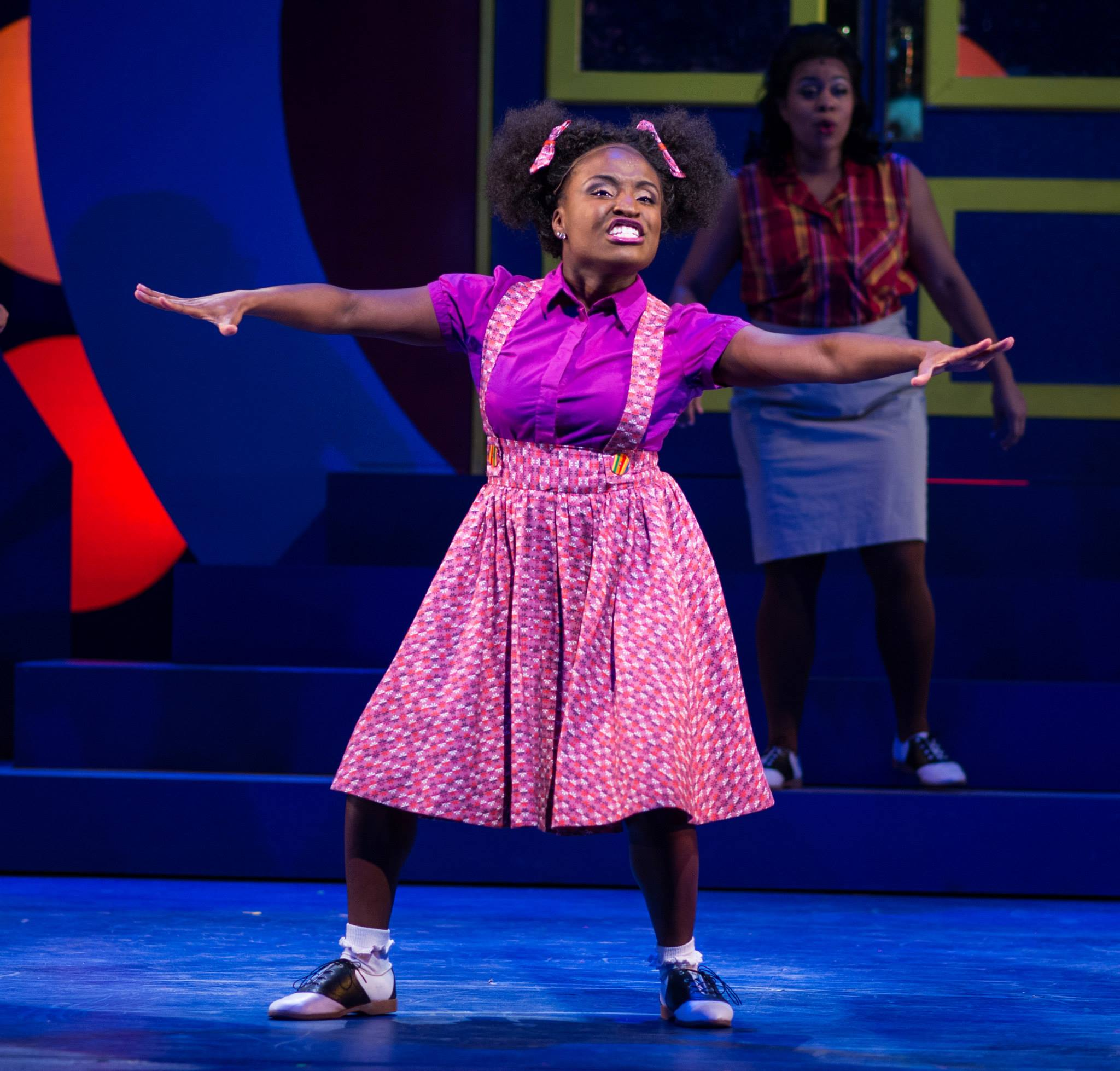 """Brittney Mack in Arizona Broadway Theatre's 2013 production of """"Hairspray."""" (Photo credit unknown)"""