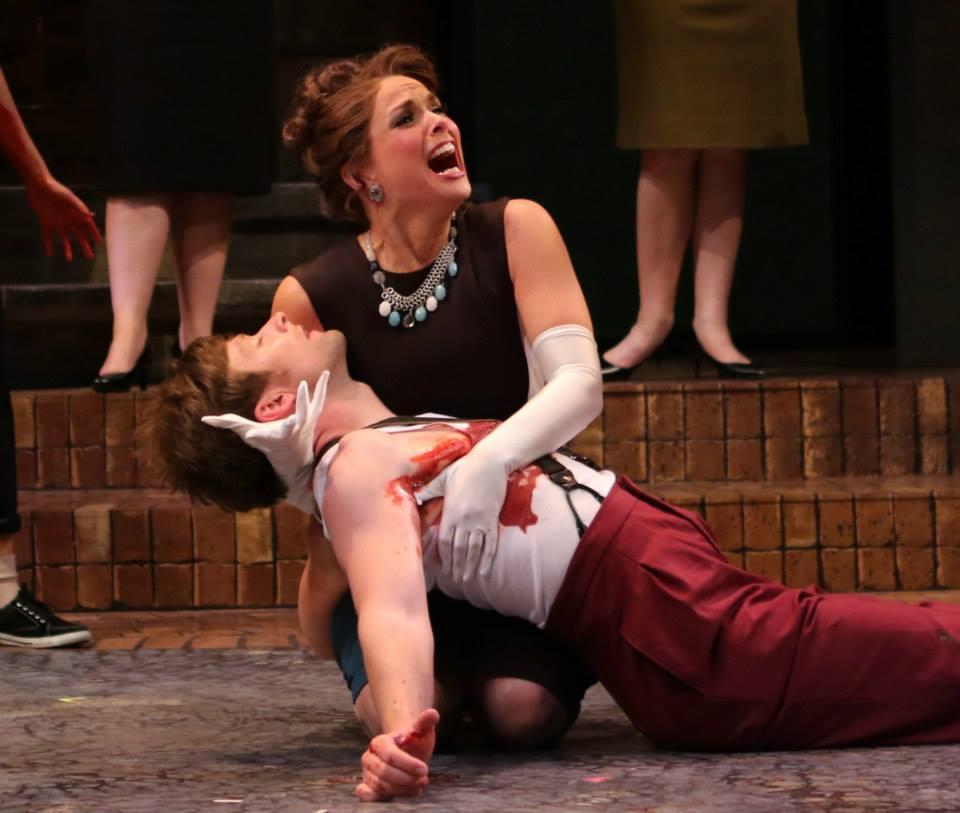 Arizona Theatre Company. 2015. Romeo and Juliet. Kyle Sorrell, Vivia Font.