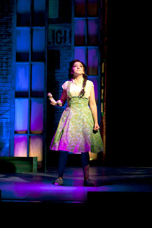 "Carly Grossman of Glendale in ""Memphis."" (Photo by Erin Evangeline)"