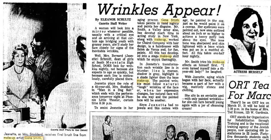 Gene Smith, March 1965, Phoenix Gazette
