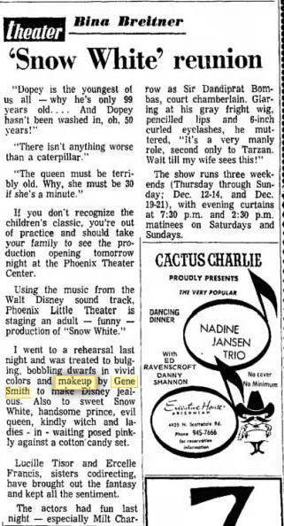 Arizona Republic, Dec. 3, 1969