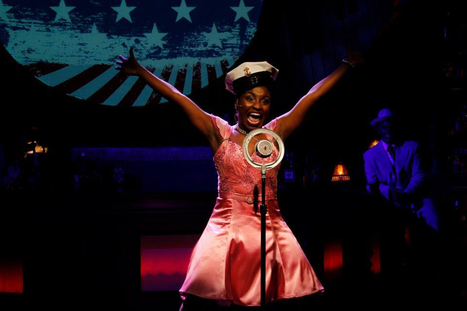 """Brittney Mack in a scene from """"Ain't Misbehavin'."""" (Photo by Sara Chambers)"""