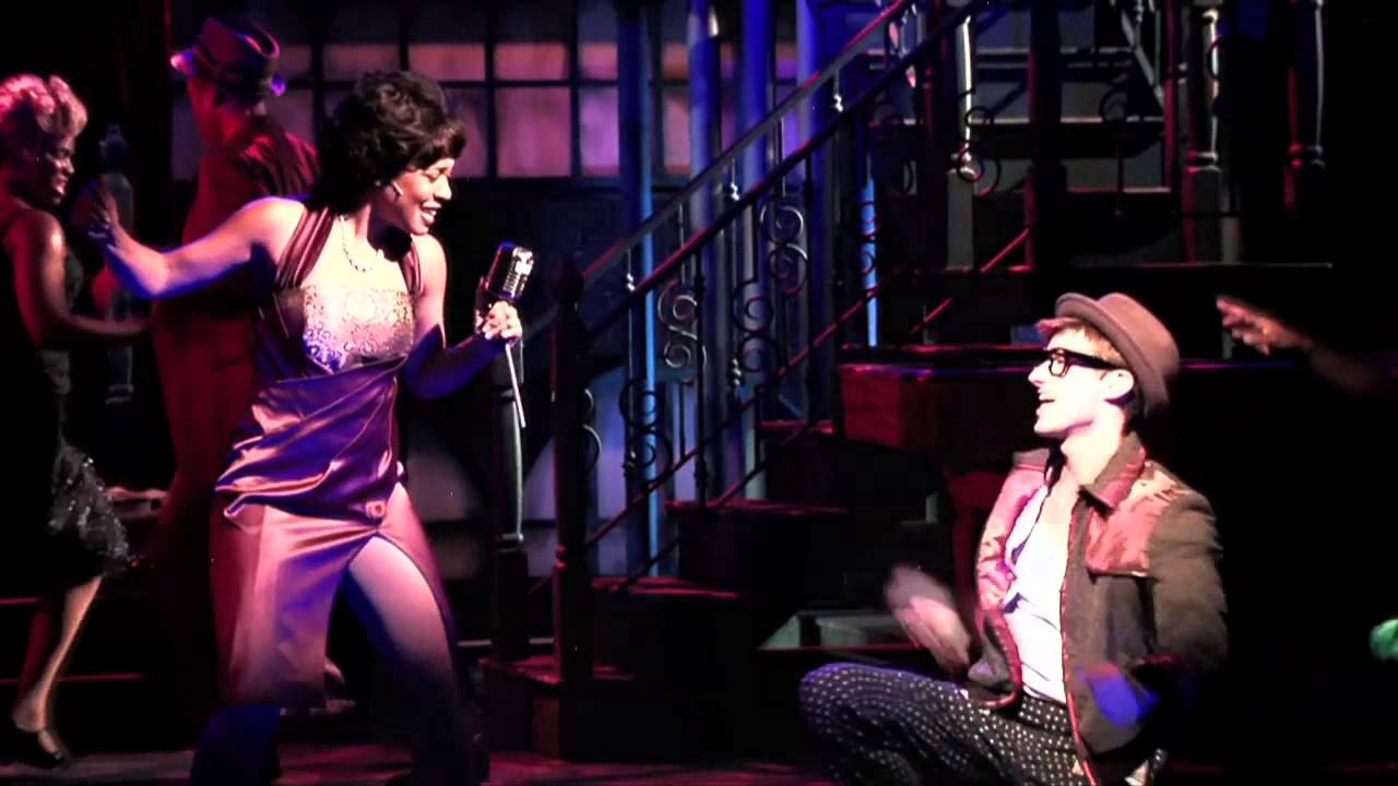 "Phoenix Theatre, 2014, ""Memphis."" Costume design by Adriana Diaz. (Photo Credit Unknown)."