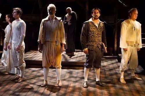 Southwest Shakespeare, 2014, Equivocation. Costume design by Adriana Diaz.