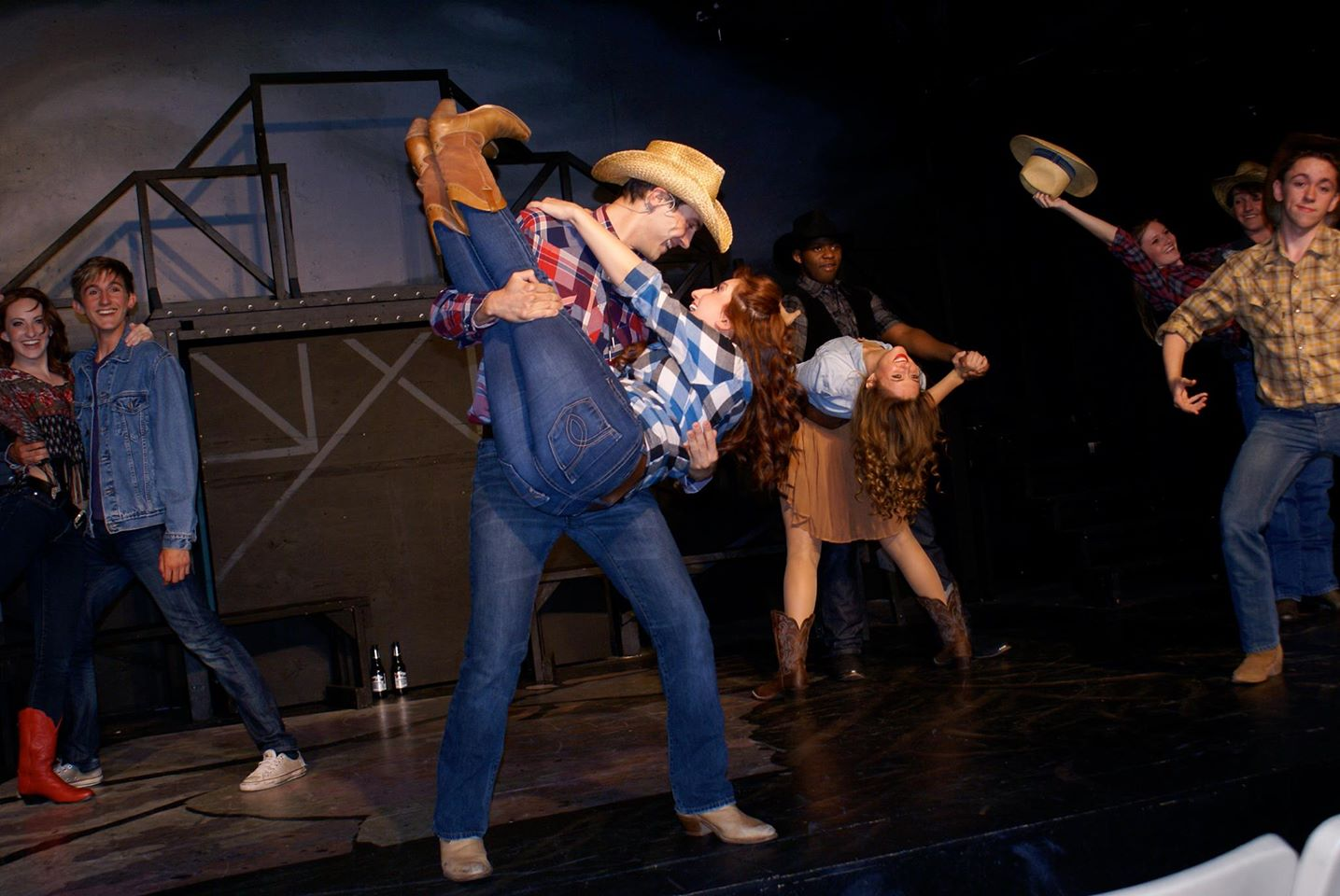 Spotlight Youth Theatre. Footloose. Carly Grossman and Aaron Arseneault.