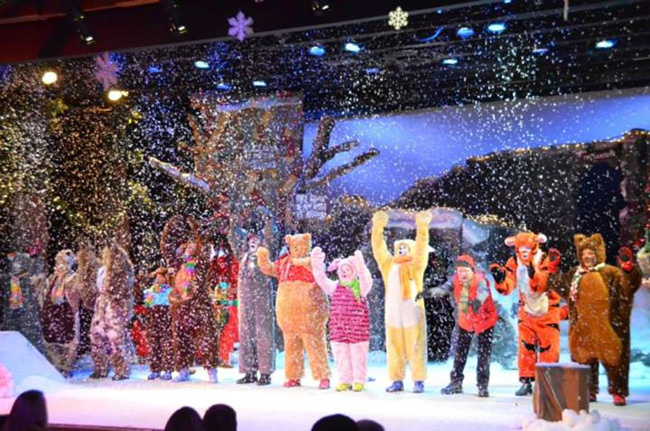 Valley Youth Theatre. 2014. A Winnie-the-Pooh Christmas Tale.