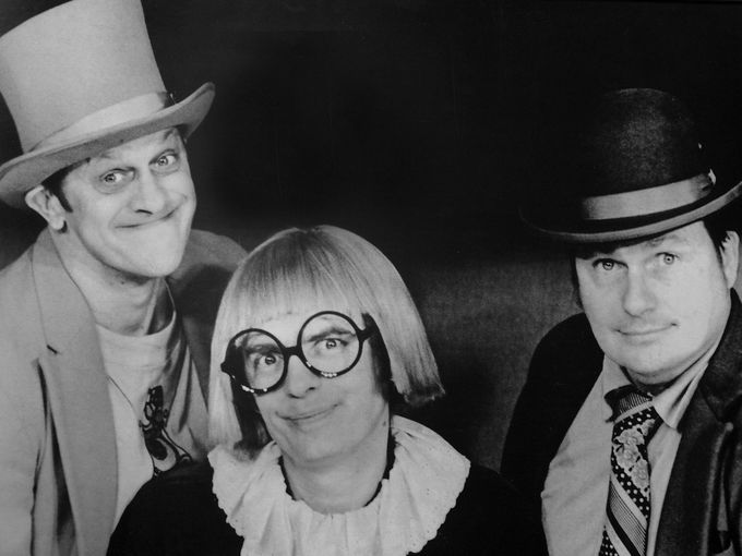Vladimer Kwaitkowski as Ladmo, Pat McMahon as Gerald, and Bill Thompson as Wallace were the Wallace & Ladmo shown in this 1970's promotional photo. (Photo: Arizona Republic Archive)