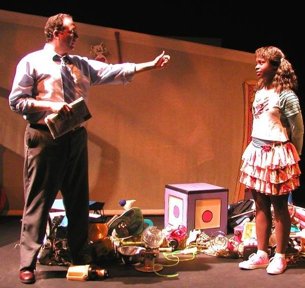 Childsplay. Interrupting Vanessa, by Coleen Neuman. Directed by Anthony Runfola. Steven j. Scally, Yolanda London. Photo credit not supplied.