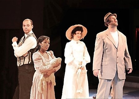 Desert Stages. 2009. Ragtime. Miguel Jackson, Brittany Bradford, Liz Reeves Fidler and Brent Graham. Photo credit unknown.