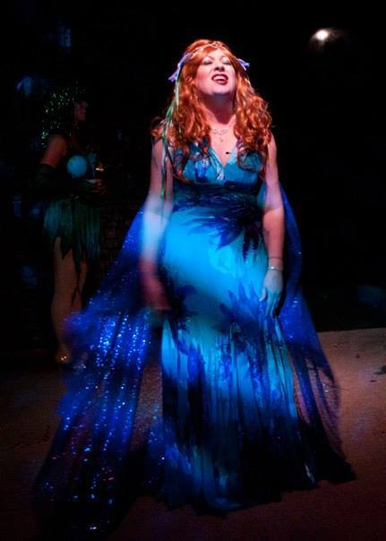 Fountain Hills Theatre. 2013-2014. Spamalot. Lizz Reeves Fidler as the Lady of the Lake. Photo credit unknown.