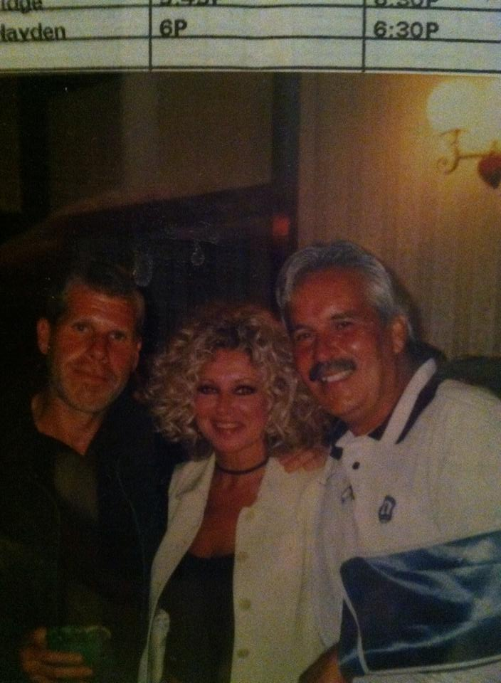 Kathi Osborne, with Larry and Ron Perlman.